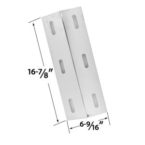 Stainless Steel Heat Plate Replacement For Select Ducane 30500602, 30400040, 30500048 Gas Grill