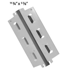 Universal Stainless Steel Heat Plate for Charbroil, Kenmore, Thermos and Uberhaus Gas Models