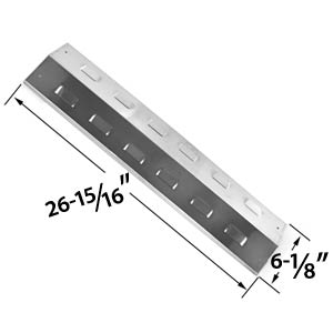 Replacement Stainless Steel Heat Shield for Charbroil, Master Chef and Kenmore Gas Grill Models