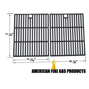Cast-Iron Cooking Grids For Brinkmann 810-8425-S, Members Mark 720-0582B, 720-0691A Gas Models