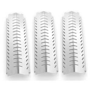 3 Pack Stainless Steel Heat Shield for Charbroil 463240804, 463241804, 463247004, 463243904, & Kirkland 463230703, FRONT AVENUE Gas Models