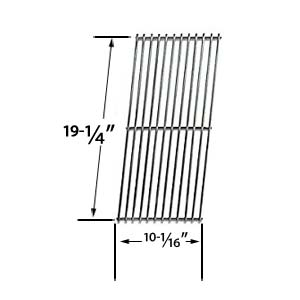 Stainless Steel Replacement Cooking Grid for Amana AM33, AM33LP and Aussie 7202, 7202BO-B21, 7202BO-M41, 7202KO-G21, 7262, 7262BO-B21, 7262BO-M21, 7262KO-G21, 7262KOXG21, 7302, 7302-0-581, 7302-2-581 Gas Grill Models