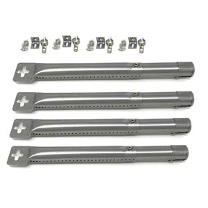"Adjustable 12"" to 17-1/2"" Gas Grill Stainless Burner 42204-4 pack"