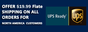 $ 19.99 UPS Ground Shipping for All Orders for bbq Grill parts