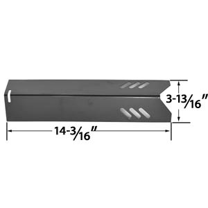 Replacement Porcelain Steel Heat Shield for Uniflame GBC1030W, GBC1030WRS, GBC1030WRS-C, GBC1134W, GBC1134WRS Gas Grill Models