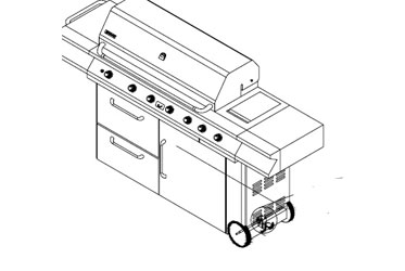 Nexgrill Gas Grill Model 720-0165