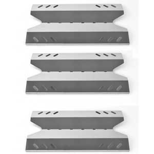 3 Pack Replacement Stainless Steel Heat Plate for BBQ Pro, Kenmore 119.166750, 119.176750, 166750, 176750, BQ06W03-1, Members Mark, Sams Club and Outdoor Gourmet Grill Models