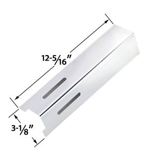 Replacement Stainless Heat Plate for BBQ Grillware GSF2616, 41590, Life@Home GSF2616J, GSF2616JB, GSF2616JBN, GSF2616JC & Uniflame NSG4303, NSG3902B, Patriot Gas GRill Models