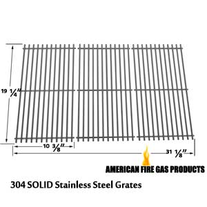 Stainless Steel Cooking Grid for NexGrill 720-0025, 720-0677, Brinkmann 810-8501-s, Members Mark 720-0586a and Jenn-Air 720-0337, 720-0512 Gas Grill Models, Set of 3
