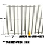 3 Pack Heavy Duty Replacement Stainless Steel Cooking Grates For Sams 720-0584A Members Mark 720-0584A and Members Mark: 720-0584A Gas Grill Models, Set of 3