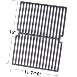 Cast Iron Grates For Four Seasons FSSHGLP, PC 10011023, NG 606986, 8269011, PC 10011024, NG 817258 Gas Grill Model (CAN ALSO BE USED FOR INFRARED BURNER)