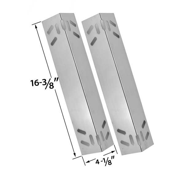 kenmore elite grill parts. 2 pack steel heat shield replacement for kenmore 119.16434010, 119.16658010, 119.16658011, 119.16670010, elite grill parts