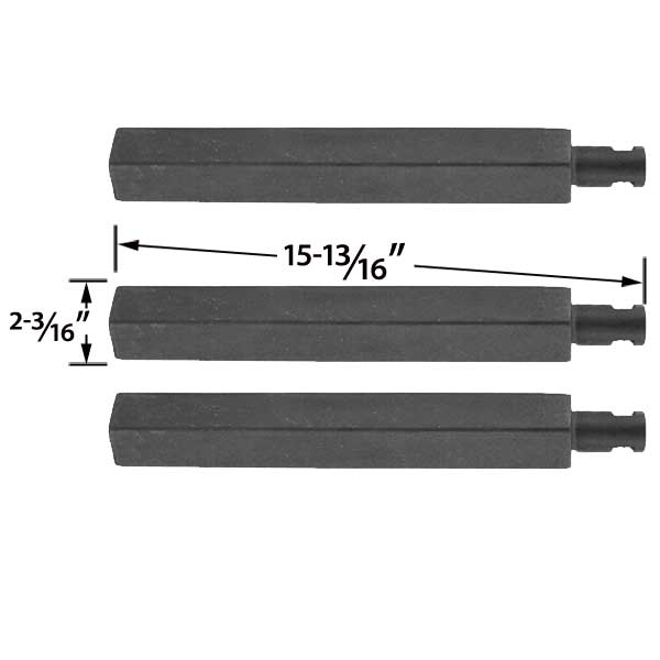 3 Pack Replacement Cast Iron Grill Burner For Charbroil Glen Canyon Jenn Air Nexgrill Virco 720 0032 And Thermos 461252705 Gas Models