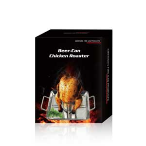 Beer Can Chicken Includes Rack, Canister & Drip Pan